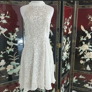 Ark and Co white dress